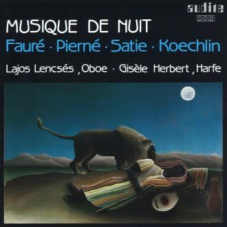 오보에와 하프로 연주하는 밤의 음악