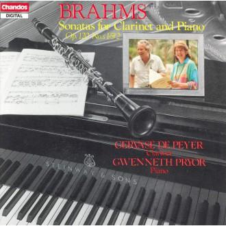 브람스 : 클라리넷 소나타  Op.120 No. 1,2